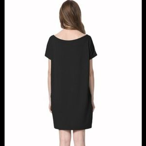 Dresses & Skirts - Black Tie Front Shift Dress
